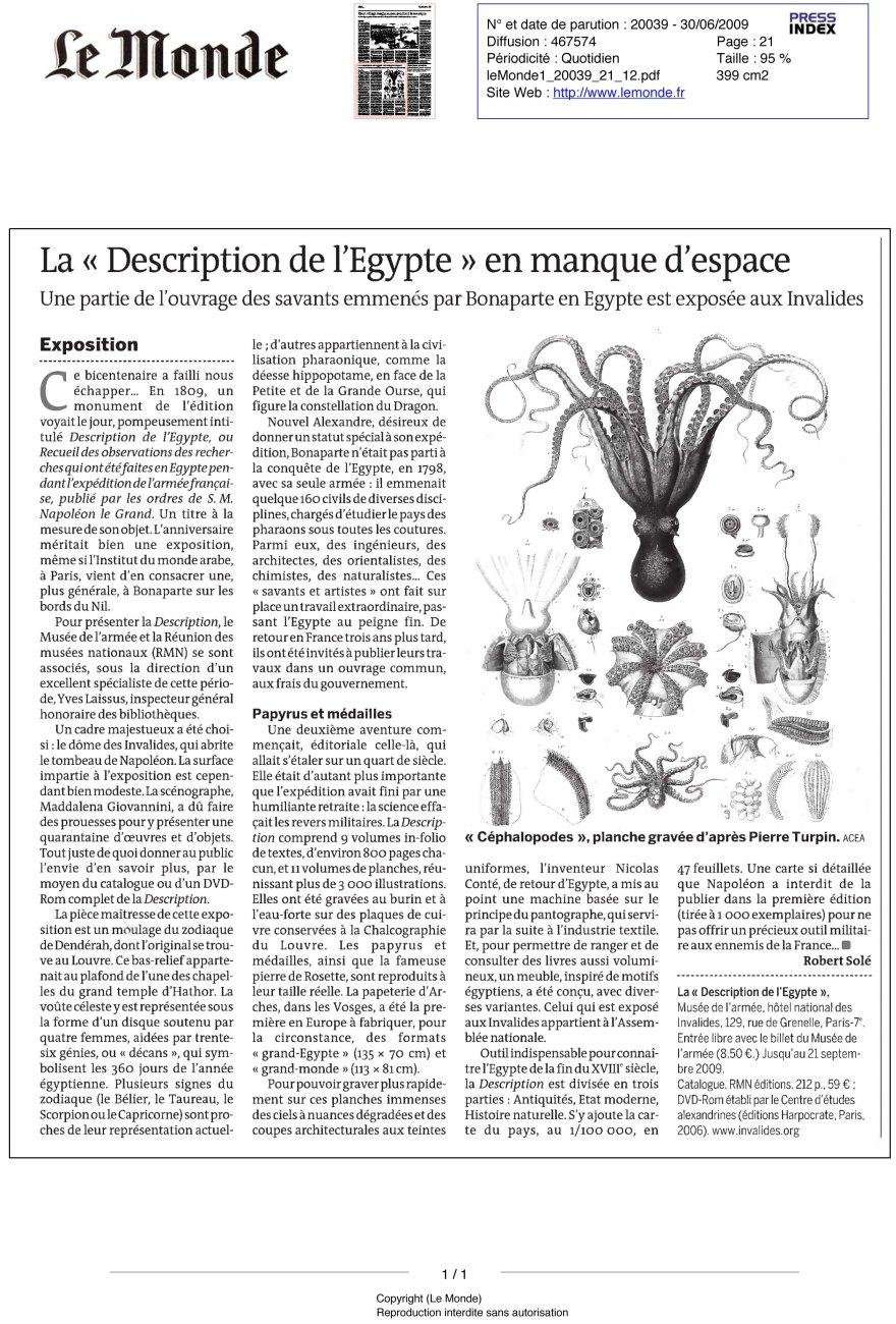 Monde (Le) N¡ 20039 - 30/06/2009 - 12